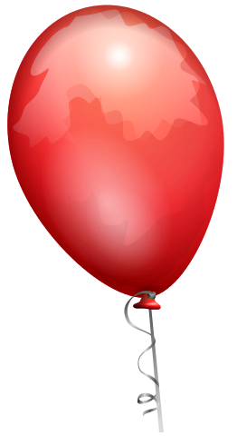 Figure 1. A child's helium balloon has roughly 1 mole of helium atoms.[1]