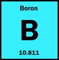 Boron energy education boron atomic weight of 10811 and atomic number of 5 urtaz Choice Image
