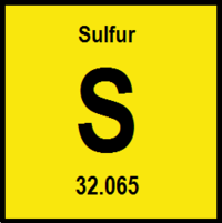Sulfur energy education sulfur atomic number of 16 and atomic weight of 32065 urtaz Gallery